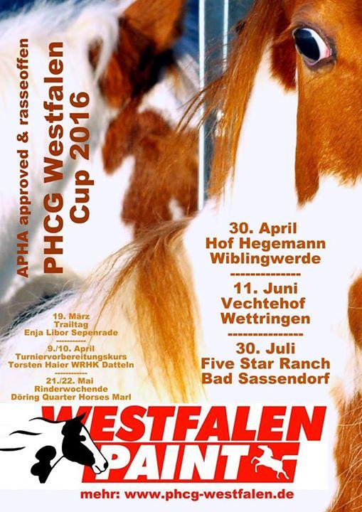 Westfalen Cup Plakat 2016